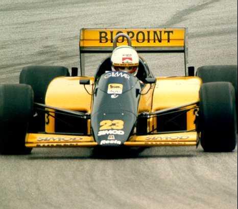 Minardi, equipe histórica de Formula 1 de 1986 - by andreadecesaris.metrona.sk
